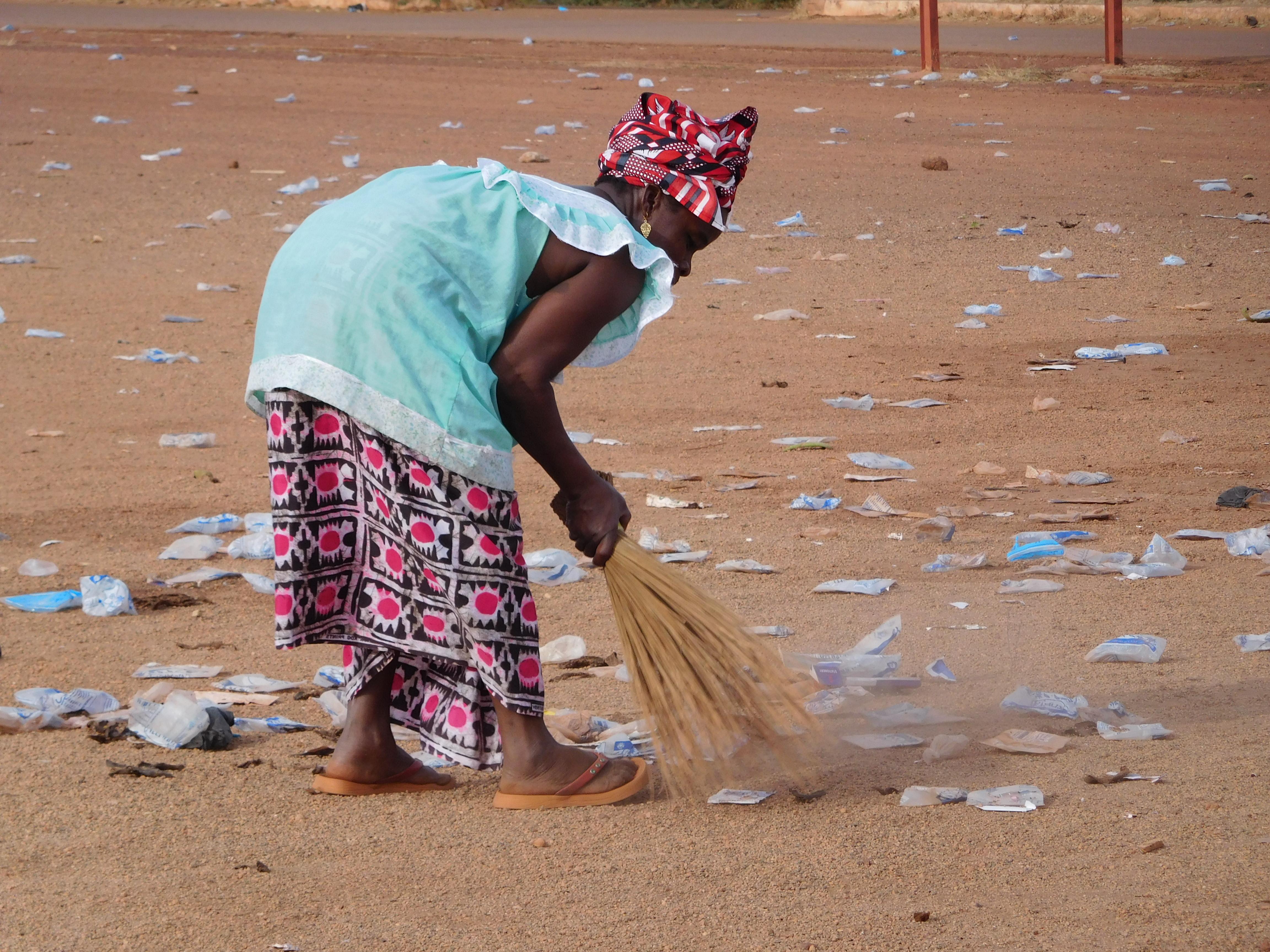Le dérèglement climatique, entraîne une sur-pollution au Burkina Faso