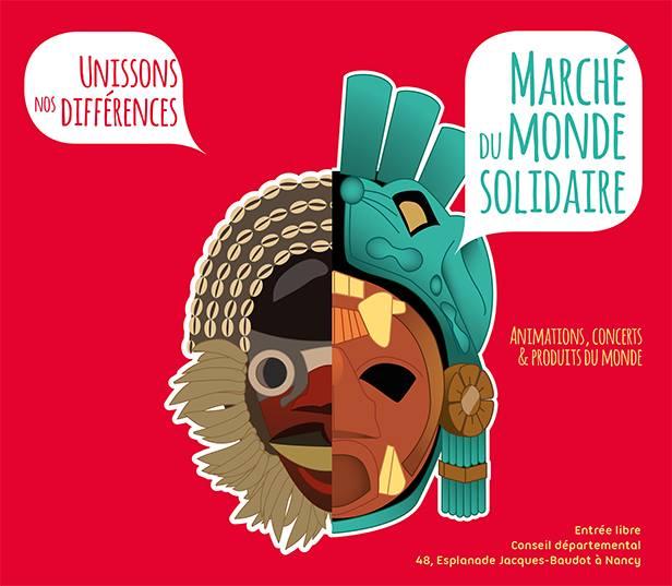 Marché du Monde Solidaire à Nancy