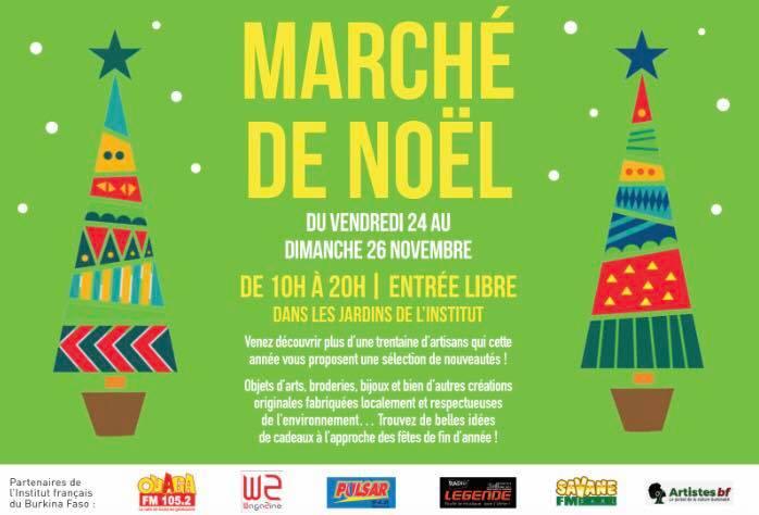 Marché de noël de l'institut français à Ouagadougou