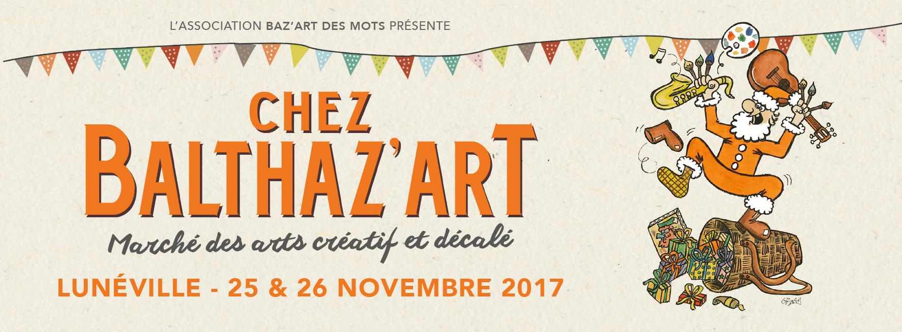 Marché de Noël Balthaz'art à Lunéville