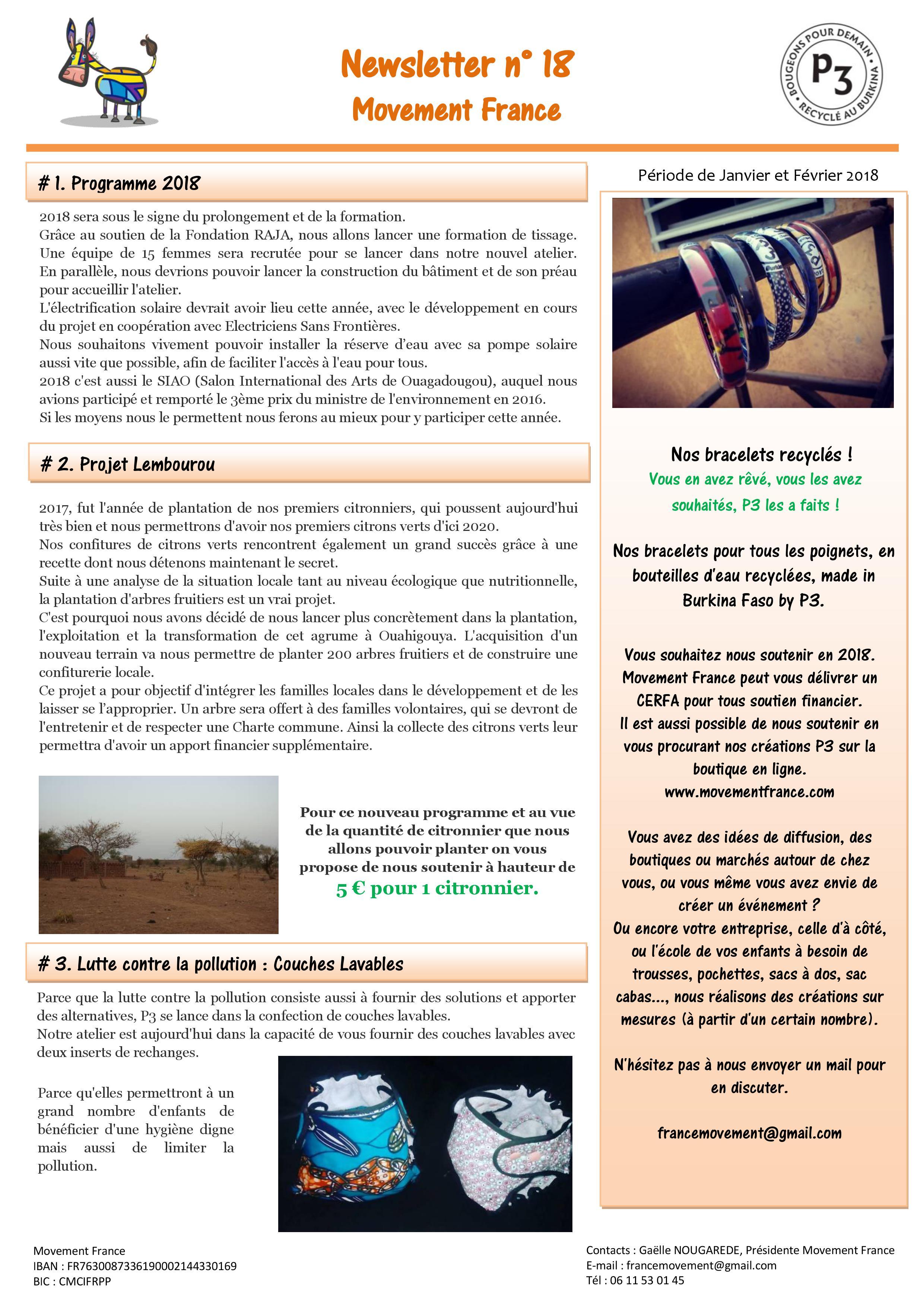 Newsletter N°18