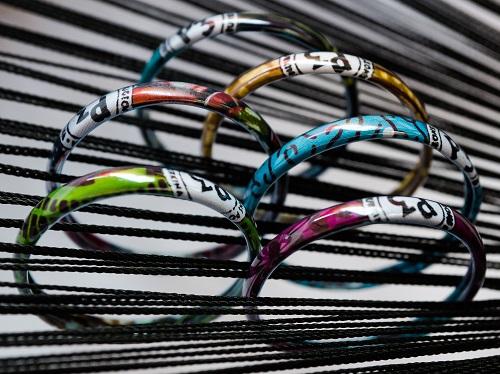 Des bracelets recyclés !