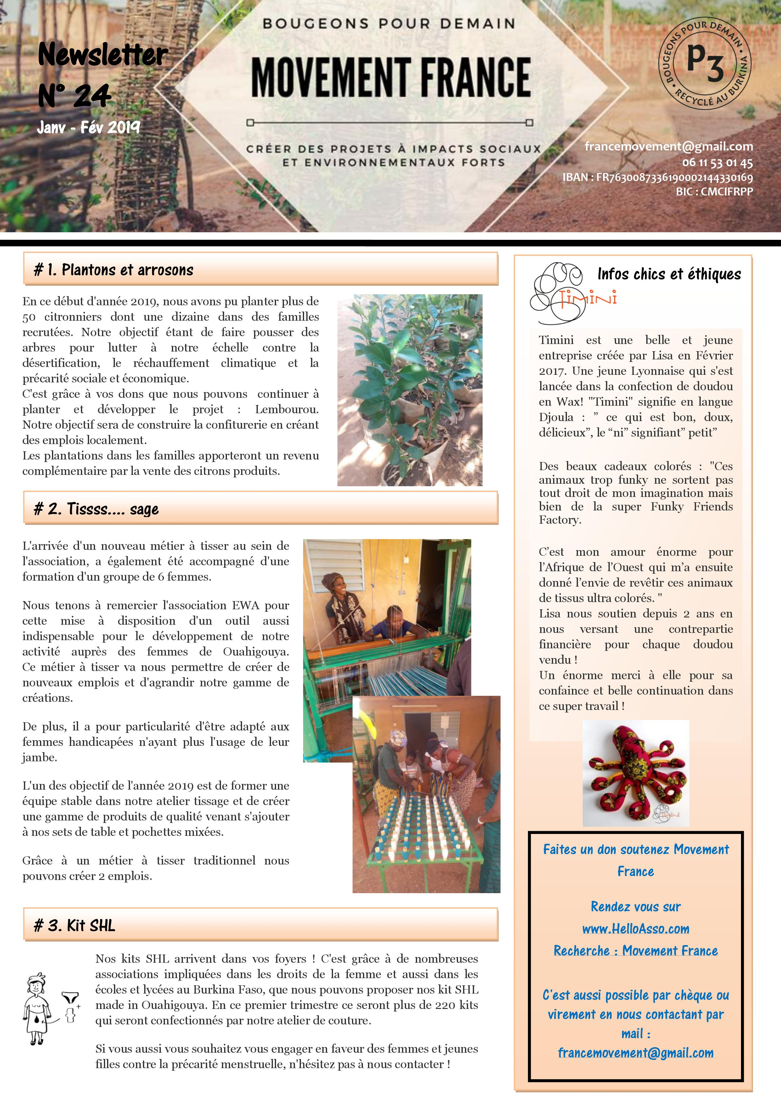 Newsletter N°24